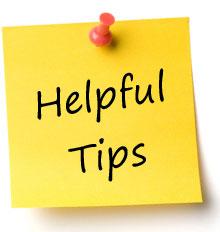 Helpful Tips Sign, Bulb Icon Stock Vector - Illustration